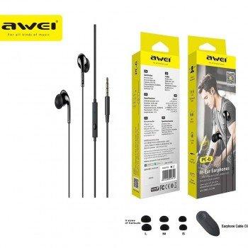 Awei PC-2 Handsfree Ακουστικά Μαύρο