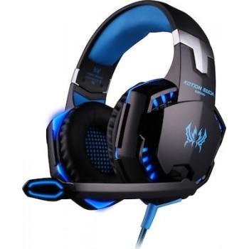 G2000 Επαγγελματικά Gaming Ακουστικά για Βιντεοπαιχνίδια - Kotion Each Headset Μπλε