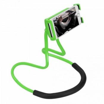 LAZY NECK Portable Flexible Tripod Stand Πράσινο