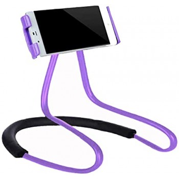 LAZY NECK Portable Flexible Tripod Stand Μωβ