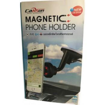 OEM Μαγνητική Βάση Κινητών CarSun C1240 Magnetic Phone Holder για Αυτοκίνητα Μαύρο