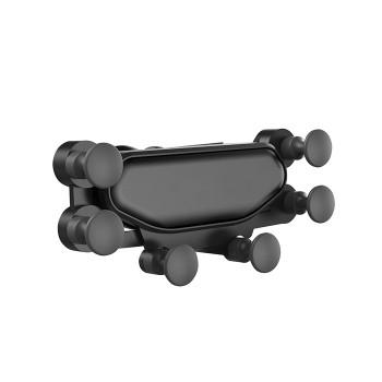 """Gravity Βάση Κινητού ZJ056 Για Αεραγωγό Αυτοκινήτου 3.5"""" - 7,5"""" Μαύρο"""