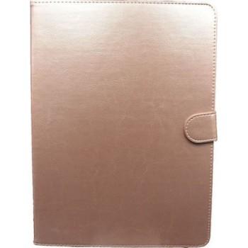 OEM Θήκη Universal Για Tablet 10'' Με Γατζάκια Χρυσή-Ροζ