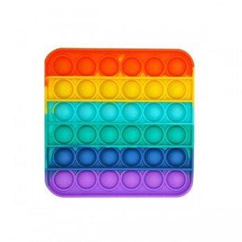 Anti Stress Fidget Bubble Pop Αγχολυτικό Οικογενειακο Παιχνίδι Τετράγωνο