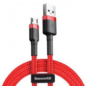 BASEUS Καλώδιο USB Cafule Micro 1,5A 2m  CAMKLF-C09 Κόκκινο
