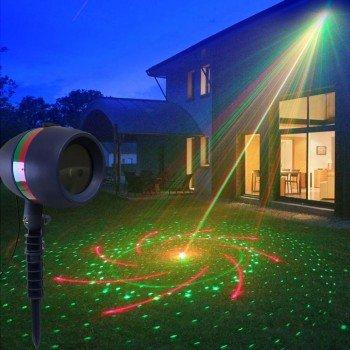 Oem 01516 Χριστουγεννιάτικος Αδιάβροχος Προβολέας Laser – Christmas Laser Light Projector & πάρτι