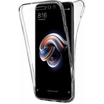 Oem Θήκη 360° Για Xiaomi Redmi Note 8T Full Cover Διάφανη