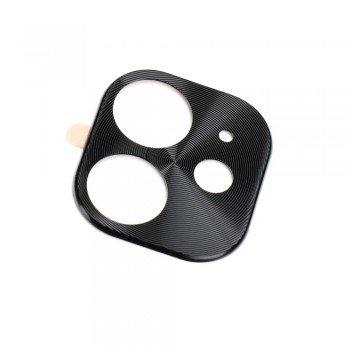 Camera Cover Aluminum Prοtector Μεταλλικό Πλαίσιο Κάμερας Black Για  Apple iPhone 11