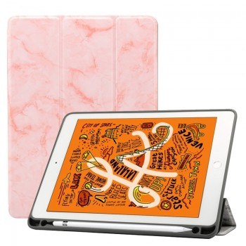 Oem Θήκη Βιβλίο - Σιλικόνη Flip Cover Για Apple Ipad Air 2 Μάρμαρο Ροζ