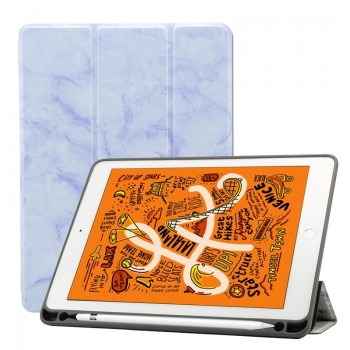 Oem Θήκη Βιβλίο - Σιλικόνη Flip Cover Για  Apple Ipad Air 2 Μάρμαρο Λευκή