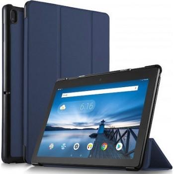 "Oem Θήκη Βιβλίο - Σιλικόνη Flip Cover Για Apple iPad Air 2020 10.9"" Μπλε"