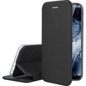 Oem Θήκη Βιβλίο Smart Magnet Elegance Για Samsung Galaxy S21 Plus 5G Μαύρο