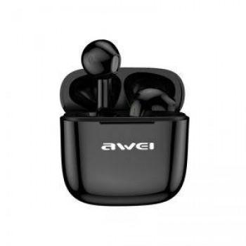Awei T26 Ασύρματα Bluetooth Ακουστικά με Touch Control & Charging Box Μαύρο
