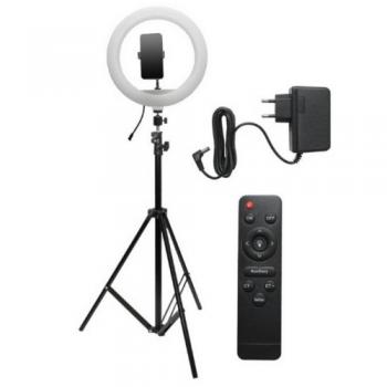 Oem Led Selfie Ring YQ-320A 30w Με Τρίποδο Επαγγματατικού Φωτισμού-Τηλεδιάσκεψης