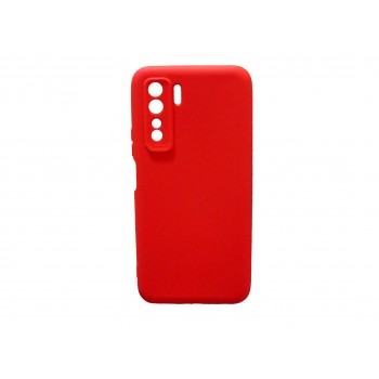 Soft Matt Case Gel TPU Cover 2.0mm Για Huawei P40 Lite 5g  Κόκκινο Box