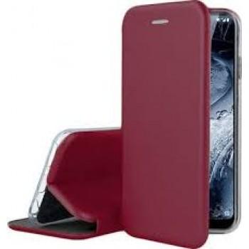 Oem Θήκη Βιβλίο Smart Magnet Elegance Για Samsung Galaxy A20E Μπορντο