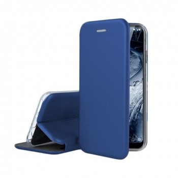 Oem Θήκη Βιβλίο Smart Magnet Elegance Για Samsung Galaxy S21 Plus 5G Μπλε