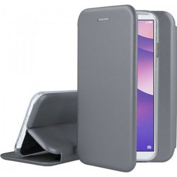 Oem Θήκη Βιβλίο Smart Magnet Elegance Για Samsung Galaxy S21 Plus 5G Γκρι