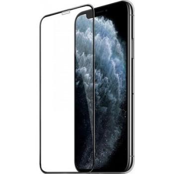Full Face Tempered glass / Αντιχαρακτικό Γυαλί Oba Πλήρους Οθόνης 3D Για Apple iPhone 12 Pro 6,1'' Μαύρο
