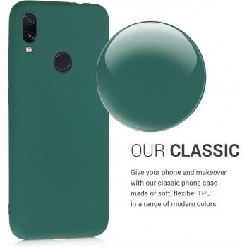 Oem Θήκη Σιλικόνης MATT Για Samsung Galaxy A11 / M11 Πράσινο Σκούρο