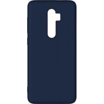 Oem Θήκη Σιλικόνης Matt Για Xiaomi Redmi Note 8 Pro Σκούρο Μπλε