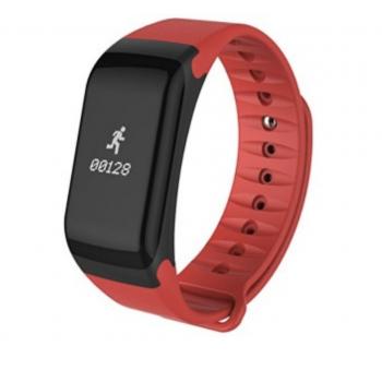 Andowl Y1 Smart Band Ρολόι Bluetooth Smartwatch με Καταγραφή Βημάτων, Ύπνου & Καρδιακών Παλμών Κόκκινο