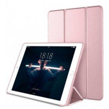 "Oem Trifold Θήκη Βιβλίο με Σιλικόνη Flip Cover Για Apple iPad Air 4 2020 10.9"" Ροζ Χρυσό"