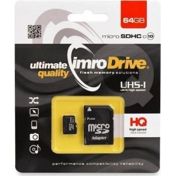IMRO microSDXC 64GB Class 10 with Adapter