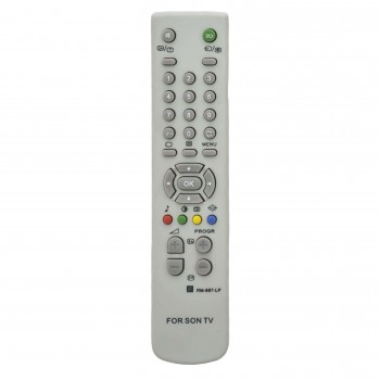 OEM Τηλεχειριστήριο Τηλεόρασης  Για SONY RM887-LP Λευκό