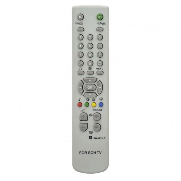 OEM Τηλεχειριστήριο Τηλεόρασης  Για SONY RM887-LP Λευκό Ήχος - Εικόνα