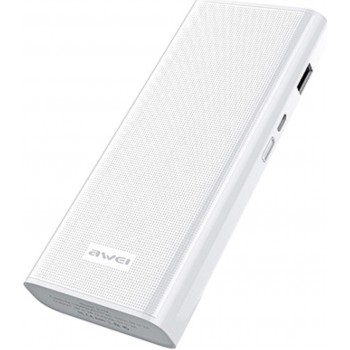 AWEI FAST CHARGE POWER BANK 12000mAh P77K_ΑΣΠΡΟ