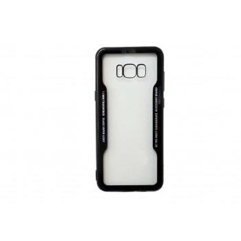 Θήκη Toughened Glass Super Light Cover Για Samsung Galaxy S8 Plus Μαύρο
