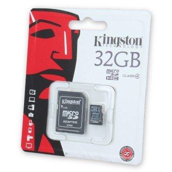 Kingston Κάρτα Μνήμης  32GB