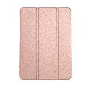 Oem Trifold Θήκη Βιβλίο με Σιλικόνη Flip Cover Για Apple Ipad 2/3/4 Ροζ Χρυσό