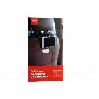 Βάση στήριξης κινητού & Tablet 'Εως 10,1'' CA30 για προσκέφαλο καθίσματος αυτοκινήτου Μαύρη