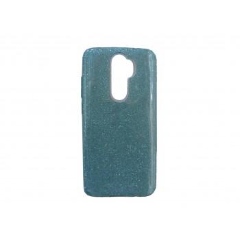 Glitter Case Shining Cover Για Xiaomi Redmi 9 Γαλάζιο