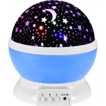 Star Master Περιστρεφόμενο φωτιστικό δωματίου / Dream Rotating Projection Lamp blue