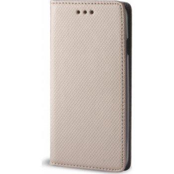Θήκη Βιβλίο Smart Magnet Για Huawei P30 Χρυσό