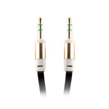 Forever audio jack 3,5 mm Μαύρο