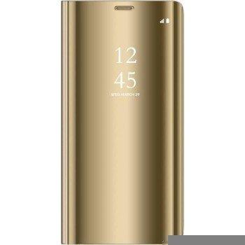 Oem Θήκη Clear View Cover Για Xiaomi Redmi 9A/9AT Χρυσή