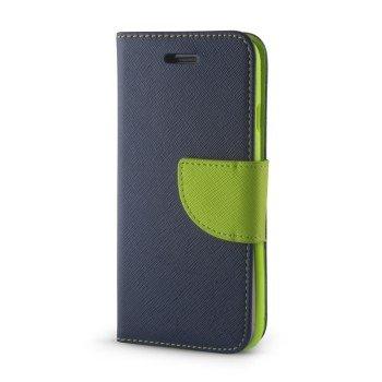 Θήκη Βιβλίο Fancy Για Xiaomi Redmi Note 5A ΜΠΛΕ-ΠΡΑΣΙΝΗ