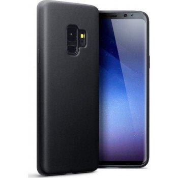 Oem Θήκη Σιλικόνης Matt Για Samsung Galaxy S9 Μαύρη