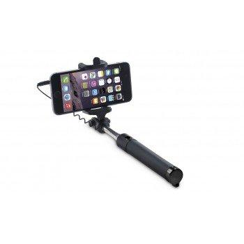 OEM Selfie Stick Με Καλώδιο Μαύρο