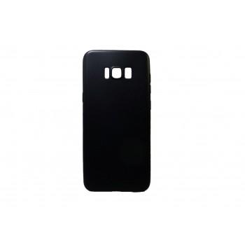 OEM Θήκη Σιλικόνης Για Samsung Galaxy S8 Plus Μαύρη Matt