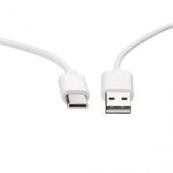OEM Καλώδιο Φόρτισης + Μεταφοράς Δεδομένων usb 2.0 Type-C USB Λευκό - 2 m