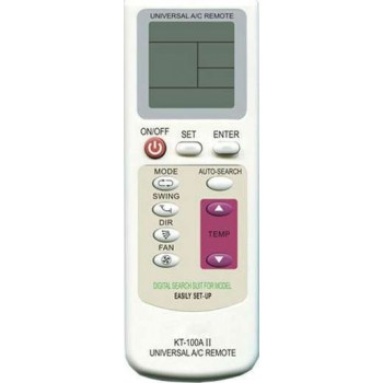 OEM Universal Τηλεχειριστήριο Air-Condition KT-100AII