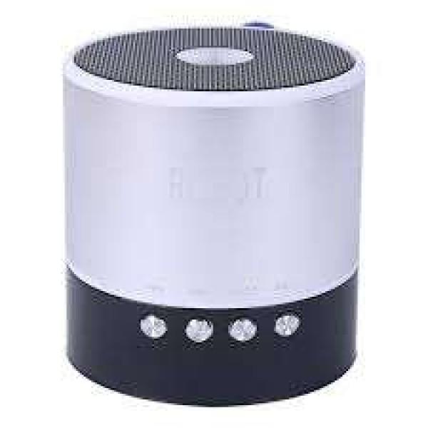OEM Φορητό ραδιοφωνάκι ψηφιακό Bluetooth speaker usb/tf/line in/ με εσωτερική μπαταρία Robot-068BT Silver