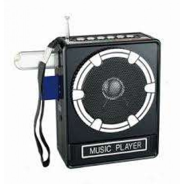 OEM Radio Music Player Support for USB/SD/MMC With Rechargeable Battery 220V/50Hz Αξεσουάρ