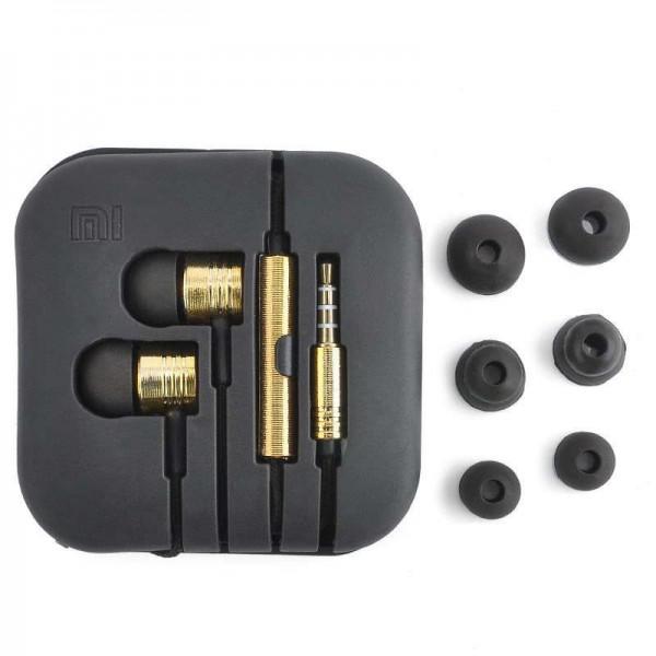 OEM Ακουστικά Stereo Handsfree Universal Με Ρυθμιστή Χρυσό (EN50332-2)  Αξεσουάρ