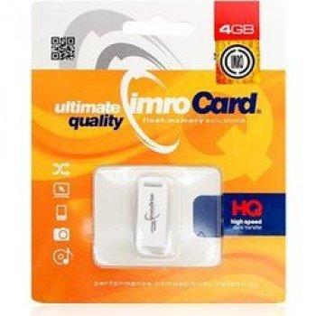 IMRO USB Flash Drive 4 GB λευκο